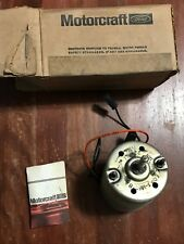Motorcraft Ford OEM Heater Blower Motor MM-406 / E0BZ-18527-A