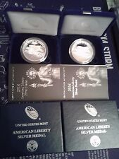 2016 American Liberty Silver Medal Proof San Francisco West Point Round 777