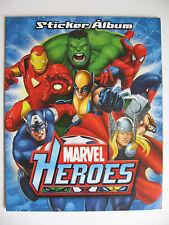 """Navarrete sammelbilderalbum """"Marvel Heroes"""", span., vacío álbum plus conjunto de imágenes"""