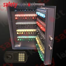 100 KEY TAG SAFE - ELECTRONIC ** Steel Construction**
