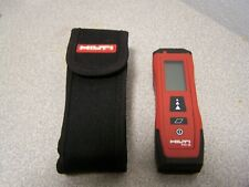 Hilti Pd S Laser Distance Meter 60m Range Measuring Tool Rangefinder With Holster