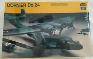 1/72 Dornier Do 24 WW II German Flying Boat Model Kit by Testors/Italeri FS