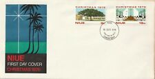 1976 Niue FDC cover Christmas
