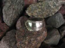 Elegant Edge Antique Spoon Ring  R308 Size 12.5 Western Skies Silver