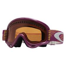 Oakley 57-416 XS O Frame Violet Yellow Moons Persimmon Girls Snow Ski Goggles .