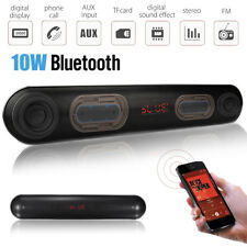 Bluetooth TV Soundbar Wireless Stereo Speaker Home Theater +Subwoofer USB/TF/AUX