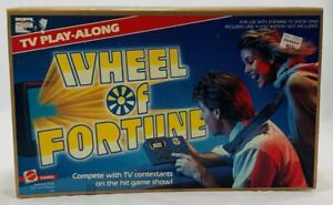 1988 Wheel of Fortune TV Play Along Game Brand New FREE SHIPPING