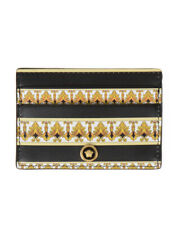 Versace Wallet Leather ITALY Man Black DPN2467 DVT5D DNMOH Sz. U MAKE OFFER