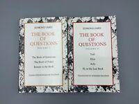 The Book of Questions Vol. I & Vol. II - Edmond Jabès (1991, Paperback, Revised)