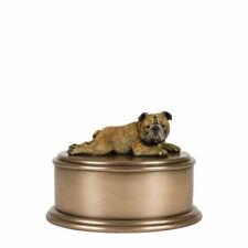 Memorials English Bulldog Figurine Cremation Urn