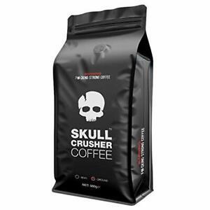 Skull Crusher Coffee | Ground Coffee (500g) | Warning: World's Strongest Coffee