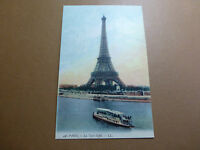 Lot033p c1910 PARIS - La Tour EIFFEL Postcard EIffel TOWER FRANCE