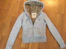 Sweat à capuche/veste Hollister taille 16 ans XS 36 Très bon état