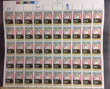 UNITED STATES SCOTT #2534 US Savings Bonds 50-29cent MINT SHEET NH