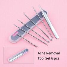 Acne Blackhead Pimple Blemish Extractor Remover Tool Kit Set Blackhead Comedone