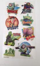 Multi-Coloured Plastic Scrapbooking Stickers