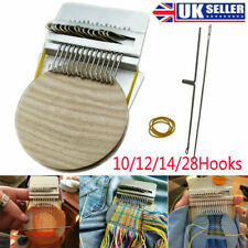 More details for small loom-speedweve type weave tool darning machine loom quickly and easily new