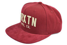 BRIXTON ARDEN II SNAPBACK ADJUSTABLE BURGUNDY AUTHENTIC OATH IMPORTED FROM USA