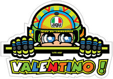Peeping Valentino Rossi Sticker