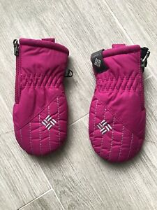 Columbia Baby Girl Mittens Infant Size O/S Pink Insulated