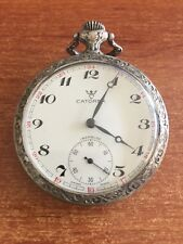 RARE CATOREX INCABLOC MECHANICAL POCKET WATCH MUNICH 1972 OLYMPICS BOXING SWISS