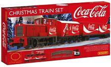 Trenino elettrico Natalizio Coca Cola Set completo ferroviario Hornby