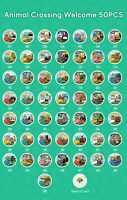 50pcs Animal Crossing Amiibo Card Nfc Card Work for Nintendo Switch 3DS