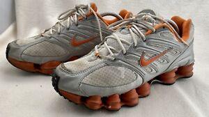 Nike Shox TL Orange Gray BV1127-181 Women's  Size 11