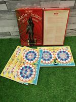 Vintage Merit Magic Robot Game Family Friends Questions Answers Magic