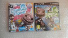 Little Big Planet 2 PS3 + Little Big Planet PS3 PlayStation 3 Little Big Planet