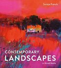 Contemporary Landscapes in Mixed Media by Soraya French, NEW Book, FREE & FAST D