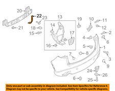 MAZDA OEM 13-15 CX-5 Rear Bumper-Splash Shield Fender Liner Right KD5350340