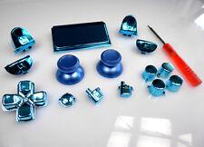 Tasten Chrom Blau ThumbSticks Aluminium JDM-040 Playstation 4 PS4 Pro Controller