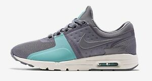 Nike Women's Air Max Zero Shoes NEW AUTHENTIC Cool Grey/Sail 857661-001