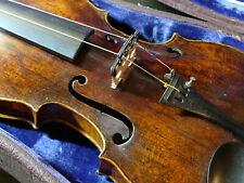 Uralte Geige mit interessanter Schnecke aus Nachlass