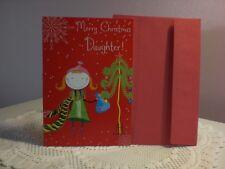 For Arts Sake - Christmas Card - Merry Christmas Daughter