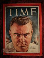 TIME magazine September 2 1957 Sept 9/2/57 JAMES GOULD COZZENS