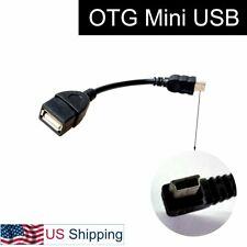 Mini USB Male To USB Female Converter for Auto GPS Navigation Stereo Phone PC
