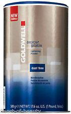 Goldwell Oxycur Platinum Dust Free Bleaching Powder 2x 17.6 ounce