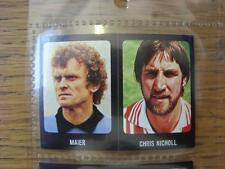 1979/1980 Football Sticker 79/80: 249) Southampton - Chris Nicholl & 380) German