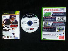 JEU Microsoft XBOX Sega Sports NFL 2K3 (football américain COMPLET envoi suivi)