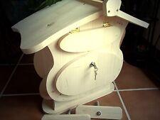 Holzbriefkasten Holz Postkasten zum bemalen SpitzdachTyp1 Tolles Design XXL