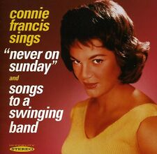 Never On Sunday/Songs To A S - Connie Francis (2012, CD NUOVO)