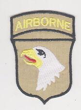 US 101st Airborne Division Desert pattern patch