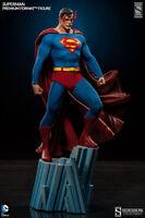 SUPERMAN PREMIUM FORMAT EXCLUSIVE FIGURE STATUE SIDESHOW DC COMICS