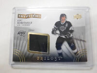 2014-15 Trilogy Hockey Luc Robitaille Kings Jersey Game-Used jh1