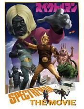 SPECTREMAN: THE MOVIE * Parody R Rated Version * Herbert Vs Giant Monsters DVD