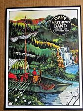 Dave Mathews Band Mini Concert Poster Reprint 2015 George WA Gig 14x10 Unsigned
