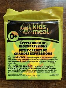 NEW!  Wendy's Little Book of Big Expressions Kids Meal Toy