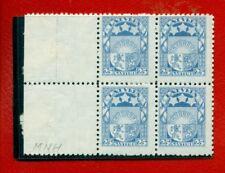 LATVIA LETTLAND BLOCK OF 4 STAMPS 25 san. 1925s Sc. 122 MNH 2294